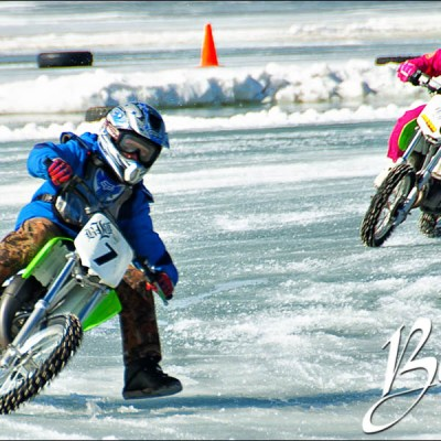 Lake Brandt Ice Races Benefit for Ashley
