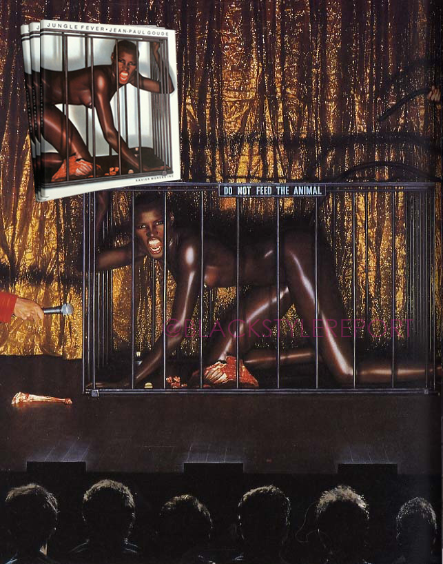 Grace Jones Don't Feed the Animal Goude copy
