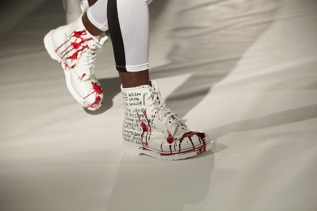 Dr Marten Boots at Black Lives Matter Fashion Show