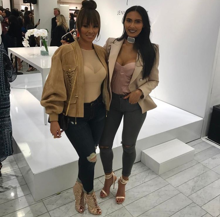 Evelyn Lozada and Daughter