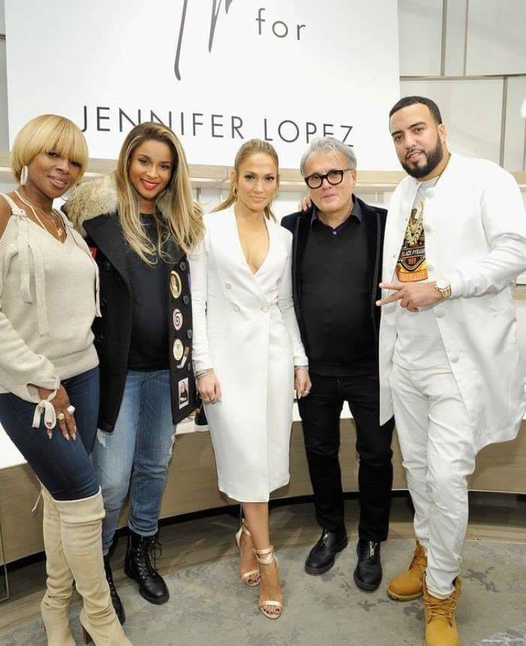 Jennifer Lopez French Montana Mary J Blige