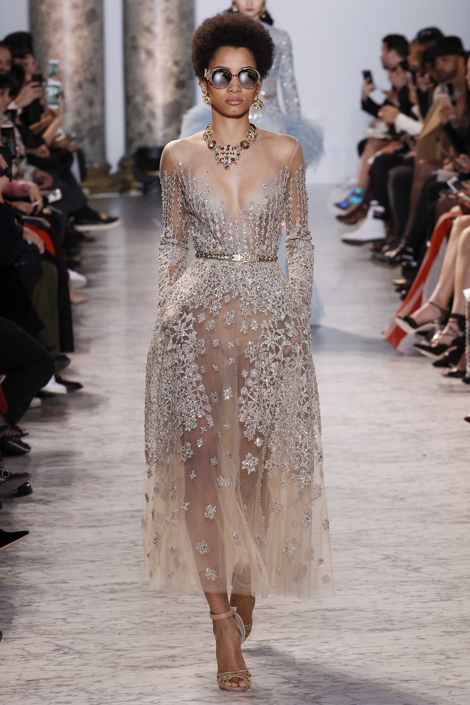 Lineisy Montero Elie Saab Collection