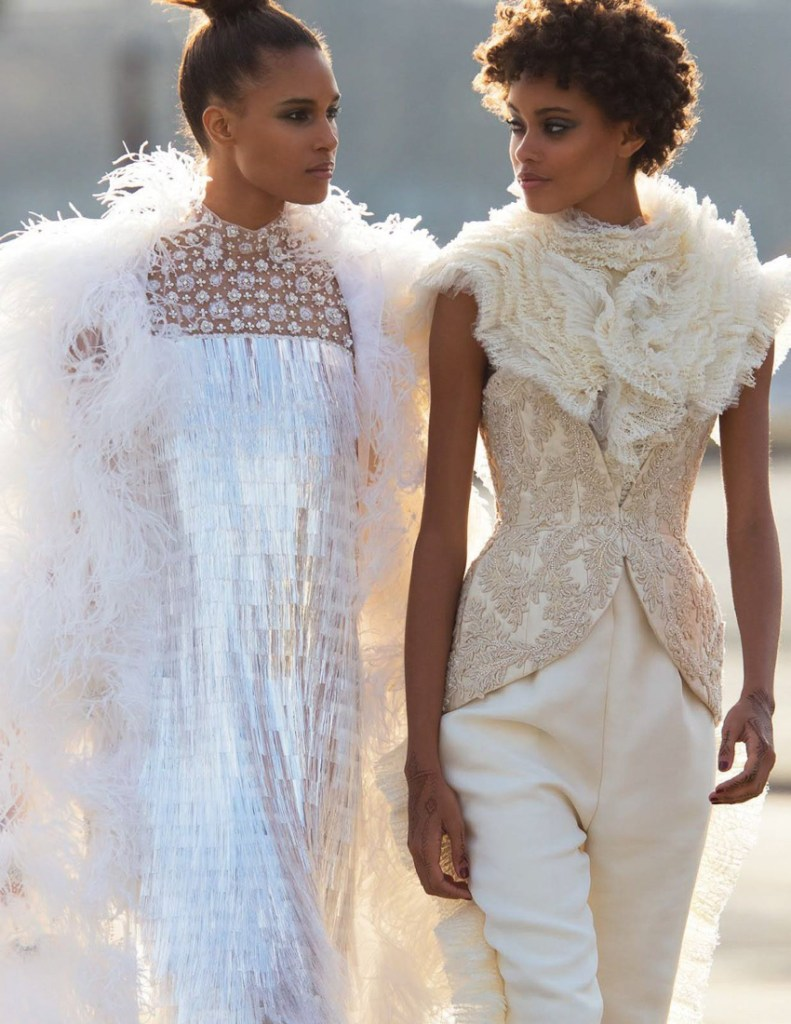 Vogue Arabia Fashion Editorial Cindy Bruna & Samile Bermannelli