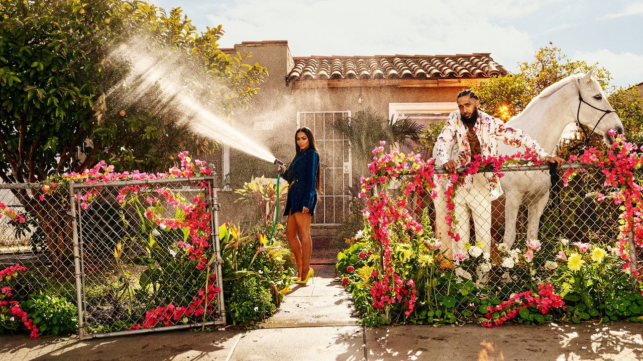 nipsey-hussle-lauren-london-gq mag
