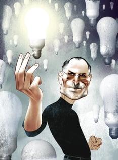 Steve Jobs, by ANDRÉ CARRILHO