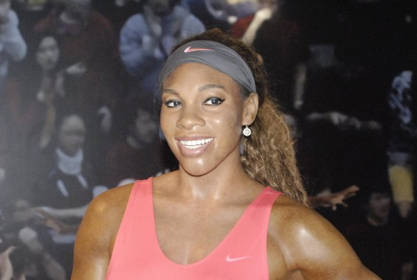 Serena Williams wax figure at the Madame Toussauds's Wax