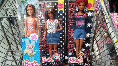 Barbie dolls from the US