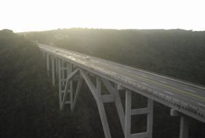 Beautiful bridge on the way to Varadero, Cuba.