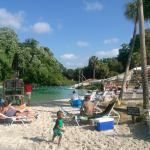 Swimming area at Weeki Wachee