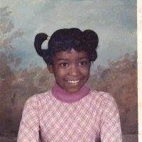 Nikki as a child.