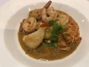 Cajun, Shrimp & Fish