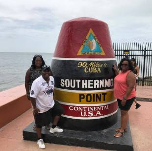 Blacks Who Travel at the Most Southern Point of the United States!