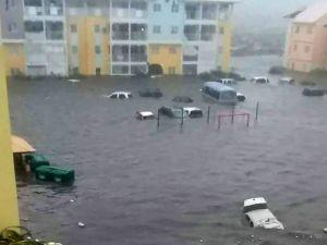 Massive flooding in Puerto Rico