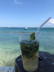 Mojitos, overlooking the Water!