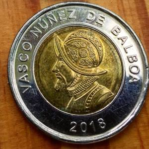 The Balboa, Panamanian dollar!