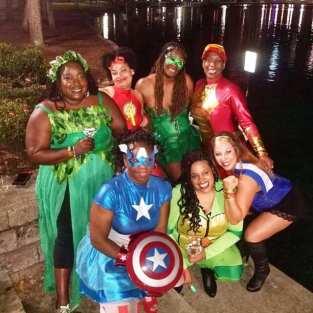 Superhero and Super Villains Party