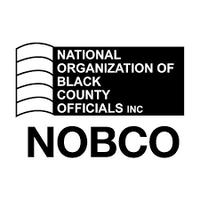 National Organization of Black County Officials logo