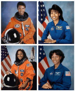 Black Then | A Black Woman in the Space: The First African ...