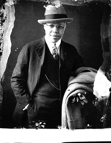 Flash Black Photo: African American Business Man