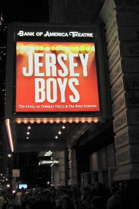 Jersey Boys-Bank of America Theatre on Monroe