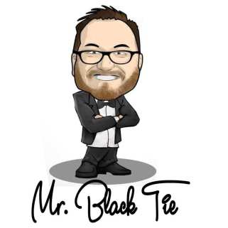 Mr Black Tie Character - How I can help you?
