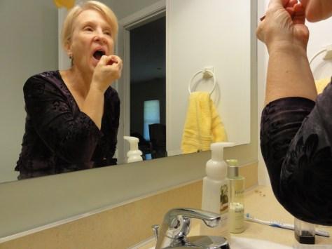 Scrub, and rub, and moisturize