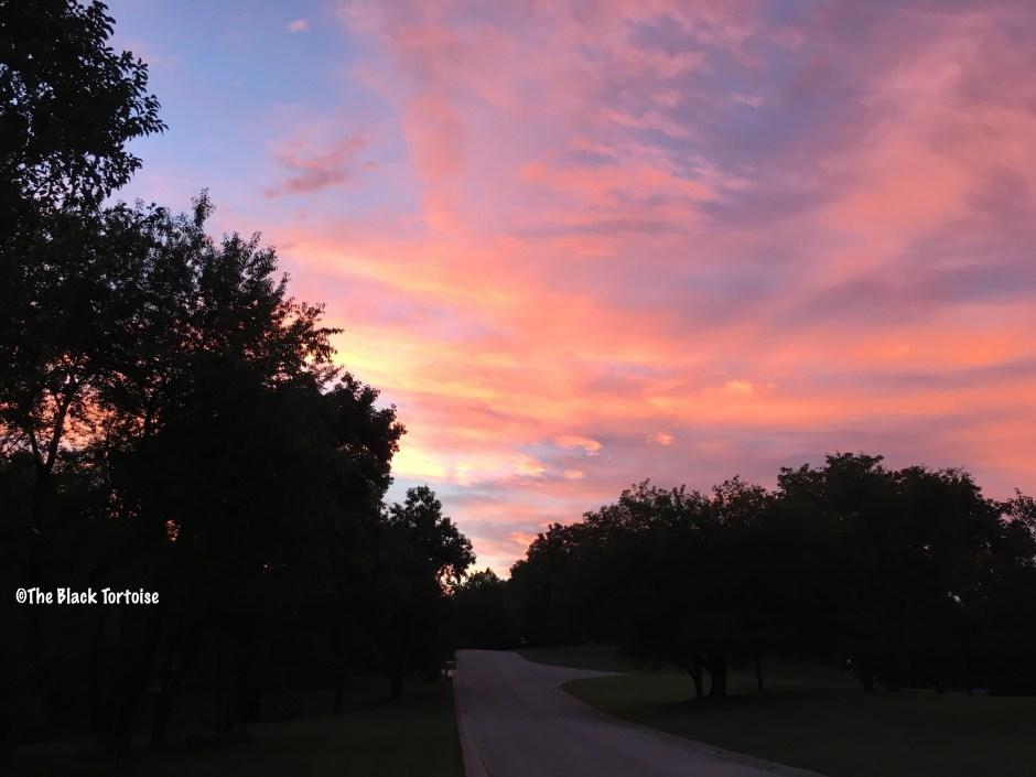 red sky in morning - 2