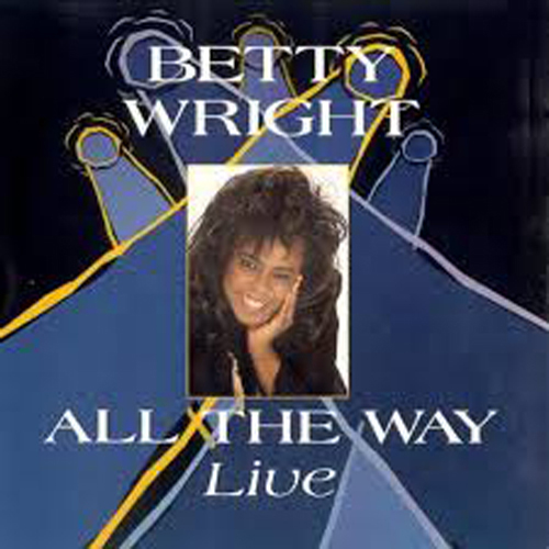 Black to the Music - Betty Wright - Lp 1992