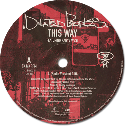 Black to the Music - Dilated Peoples - 2001 - This Way
