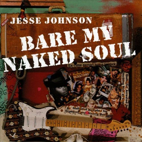 Black to the Music - Jesse Johnson - Lp 1996 Bare My Naked Soul