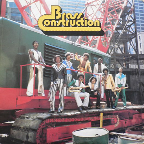 Black to the Music - The Brass Construction - LP 1975 - I