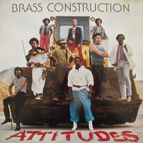 Black to the Music - The Brass Construction - LP 1982 - Attitudes