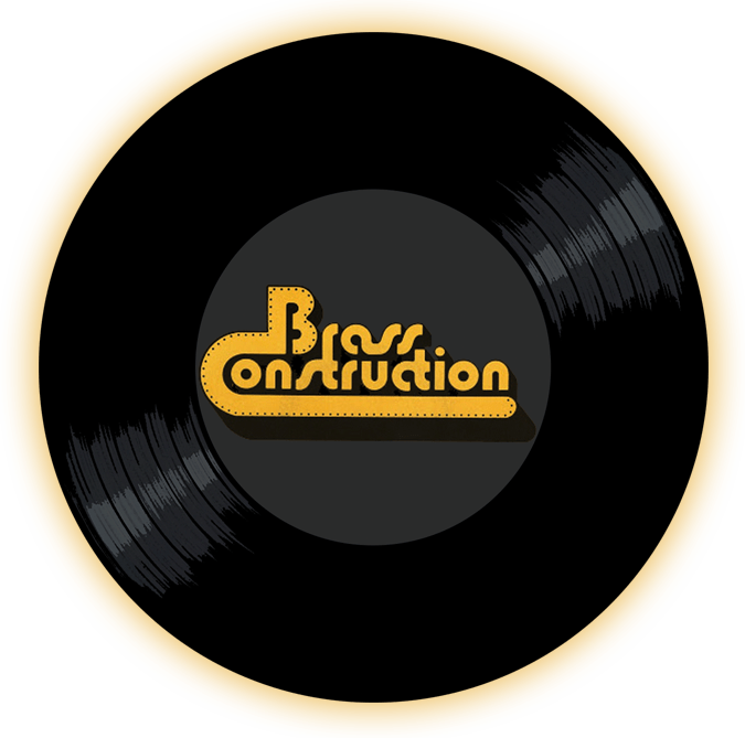 Black to the Music - The Brass Construction - logo header