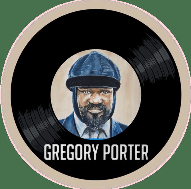 Black to the Music - Gregory Porter - logo header