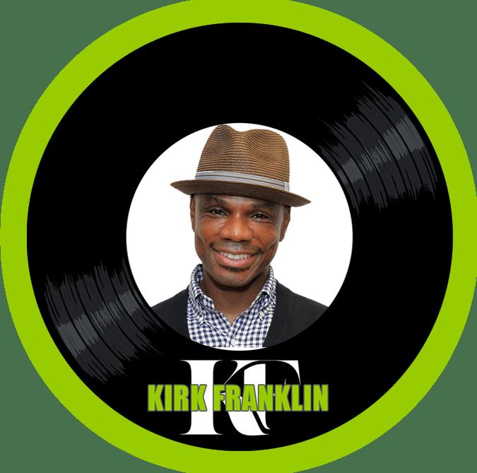 Black to the Music - logo header Kirk Franklin