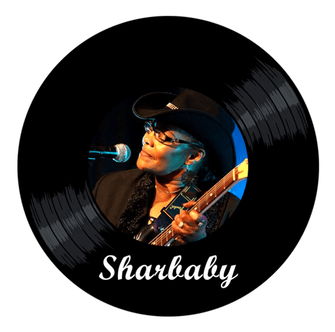 Black to the Music - logo Sharbaby