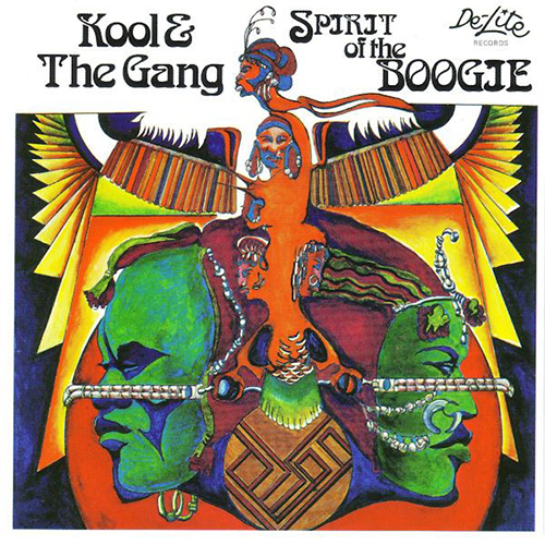 Black to the Music - Kool & The Gang - 1975 Spirit Of The Boogie