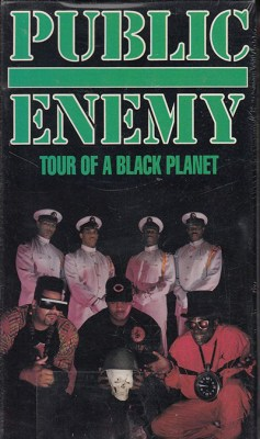 Black to the Music - Public Enemy DVD 1991 - Tour of a black Planet