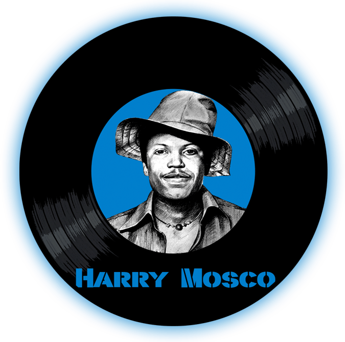 Black to the Music - Harry Mosco - logo header