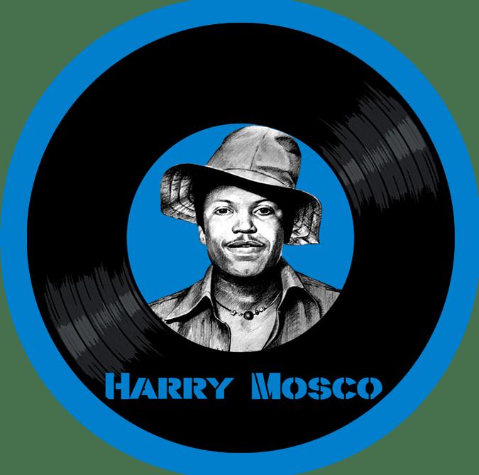 Black to the Music - Harry Mosco - logo header