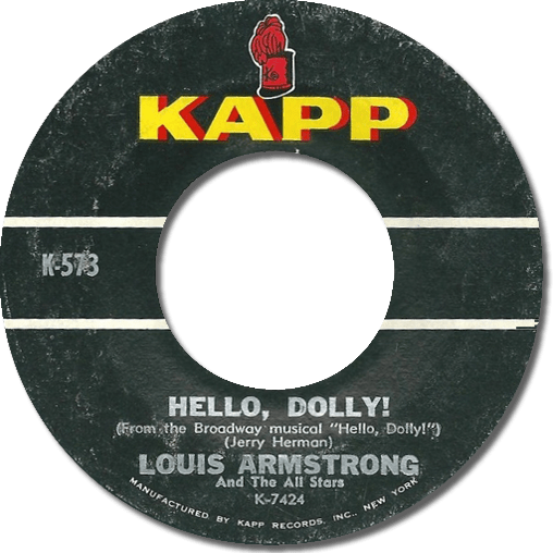 Black to the Music - Louis Armstrong - 1964 - Hello Dolly