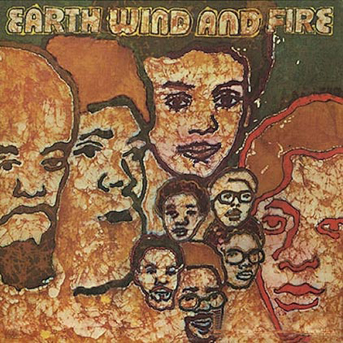 Black to the Music - EWF - Lp 1970 - EARTH WIND & FIRE