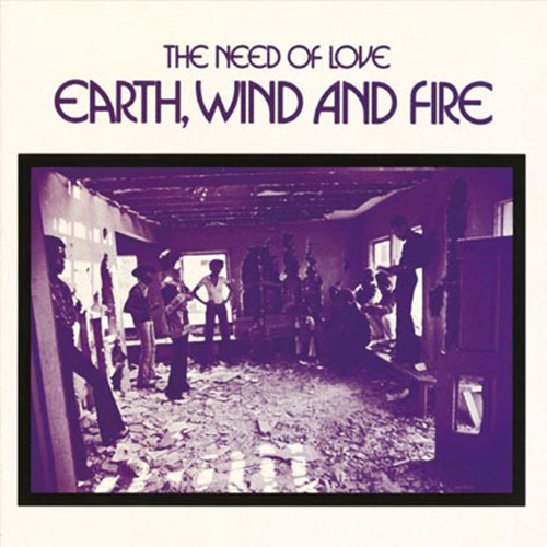 Black to the Music - EWF - Lp 1971 - THE NEED OF LOVE