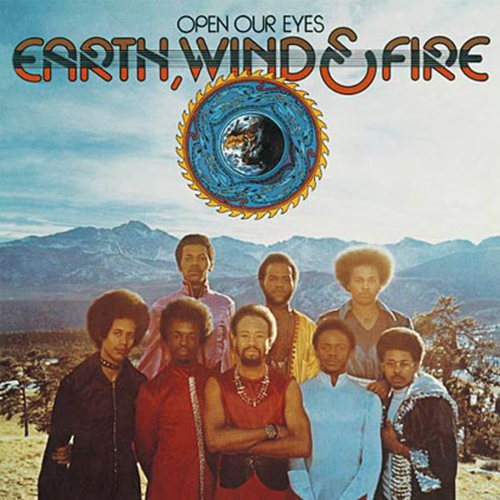 Black to the Music - EWF - Lp 1974 - OPEN YOURS EYES