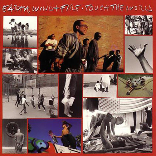 Black to the Music - EWF - Lp 1987 - TOUCH THE WORLD