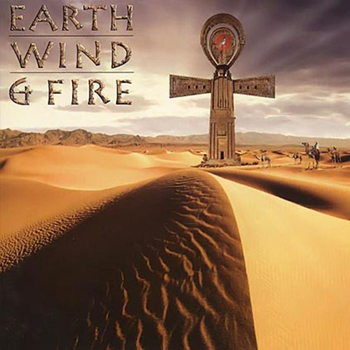 Black to the Music - EWF - Lp 1997 - IN THE NAME OF LOVE