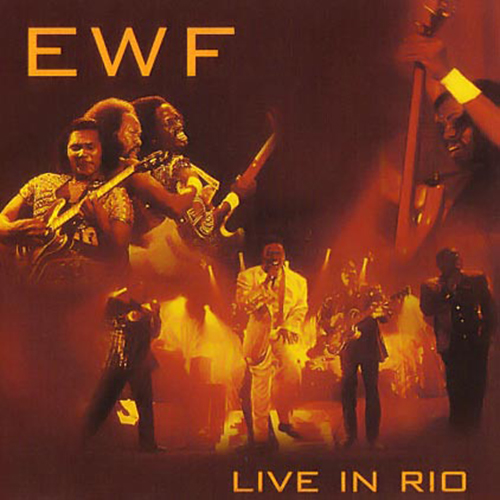 Black to the Music - EWF - Lp 2002 - LIVE IN RIO