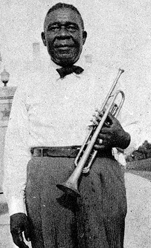 Black to the Music - Louis Armstrong - 06 Oscar 'Papa' Celestin, 1946 (c) Dr. Edmond Souchcon