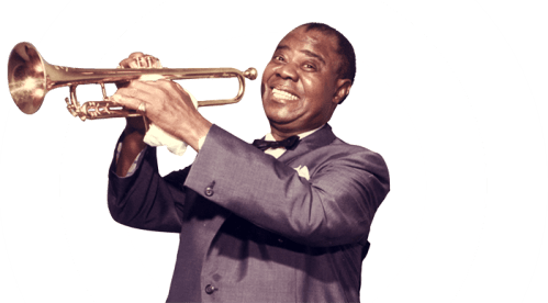 Black to the Music - Louis Armstrong - 08