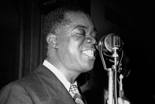 Black to the Music - Louis Armstrong - 09